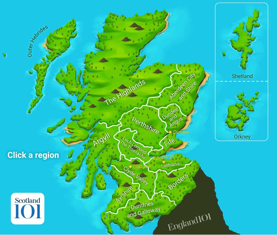 Scotland-map