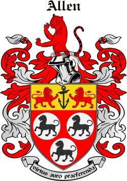 ALLEYNE family crest