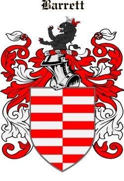 Barrett family crest