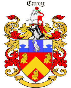 Carrey family crest