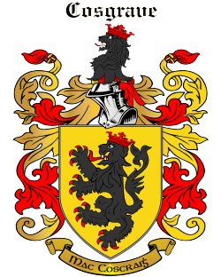 COSGRAVE family crest