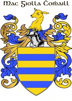 COLL family crest