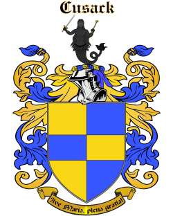 CUSACK family crest