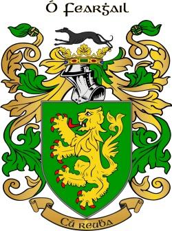 FARRALL family crest