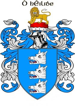 HEALEY family crest
