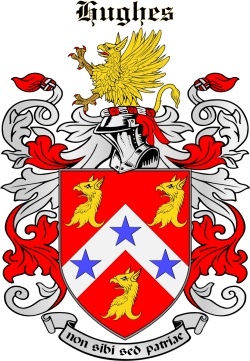 Hewes family crest