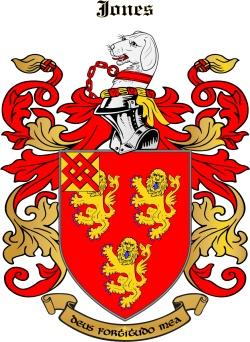 Joynes family crest