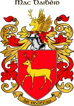 MCDAID family crest