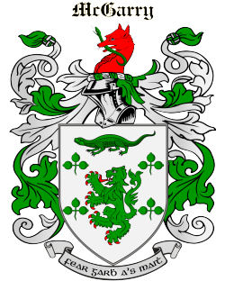 MCGARRY family crest