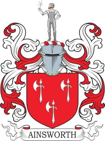 AINSWORTH family crest