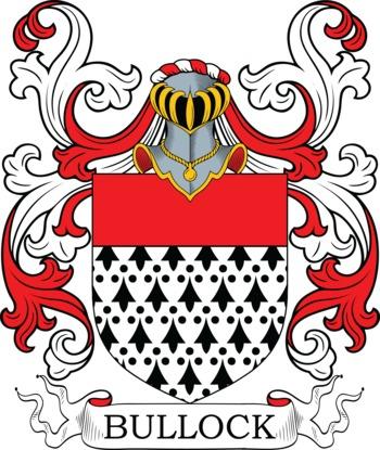 BULLOCK family crest