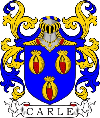 CARLE family crest