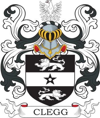CLEGG family crest