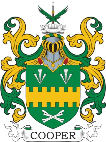 Cupper family crest