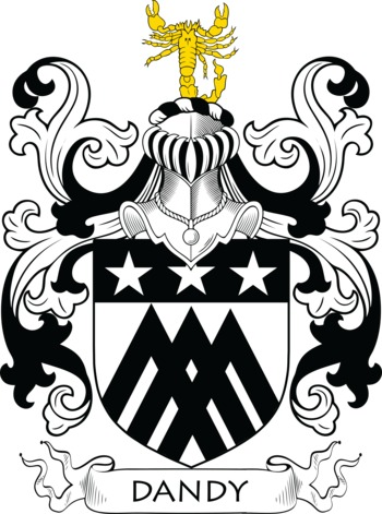 DANDY family crest