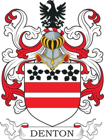 DENTON family crest