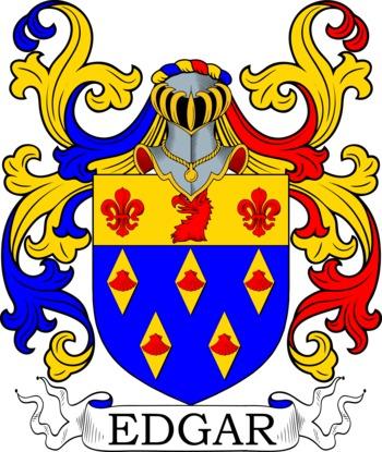 EDGAR family crest