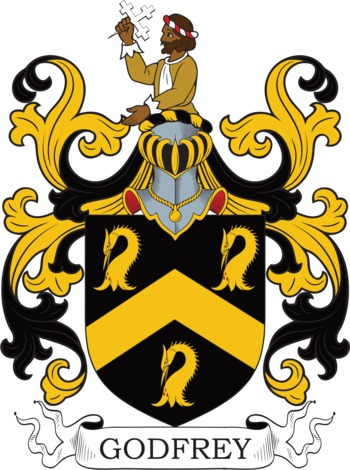 GODFREY family crest