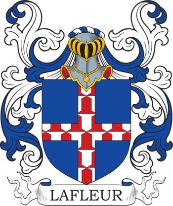 LAFLEUR family crest
