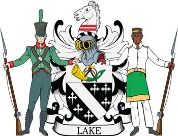 Lake family crest