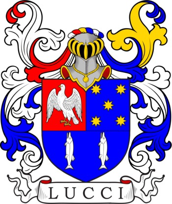 LUCCI family crest