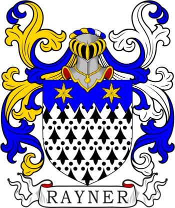 RAYNER family crest
