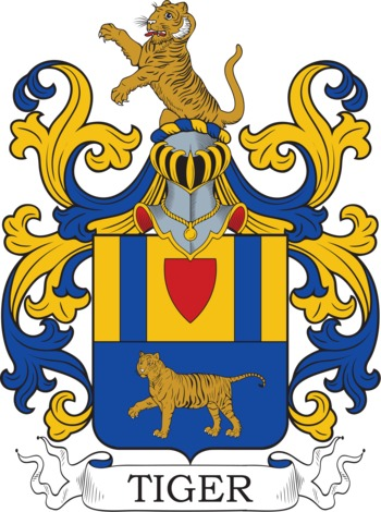 TIGER family crest