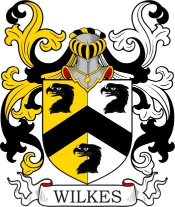 WILKES family crest