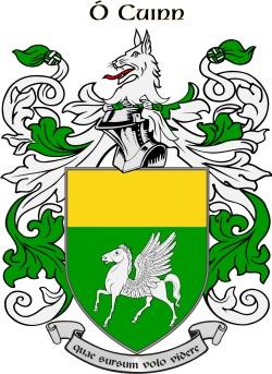 QUINN family crest