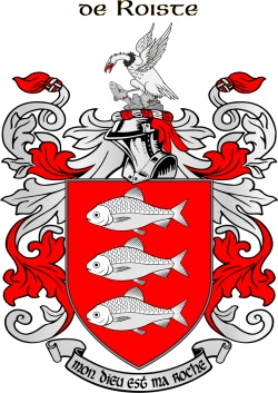 ROCHES family crest
