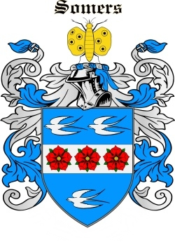 SOMERS family crest